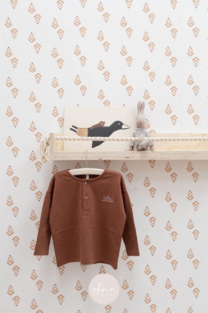 Plankje babykamer