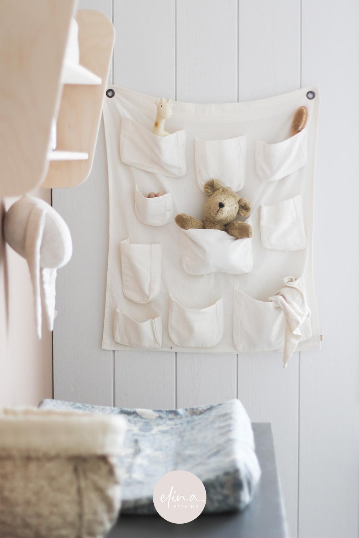 Wandopberger babykamer