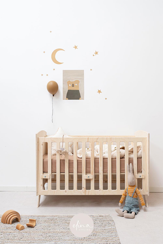 Neutrale babykamer inspiratie