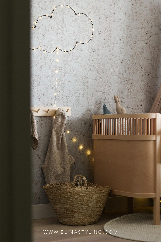 Babykamer jongen binnenkijken