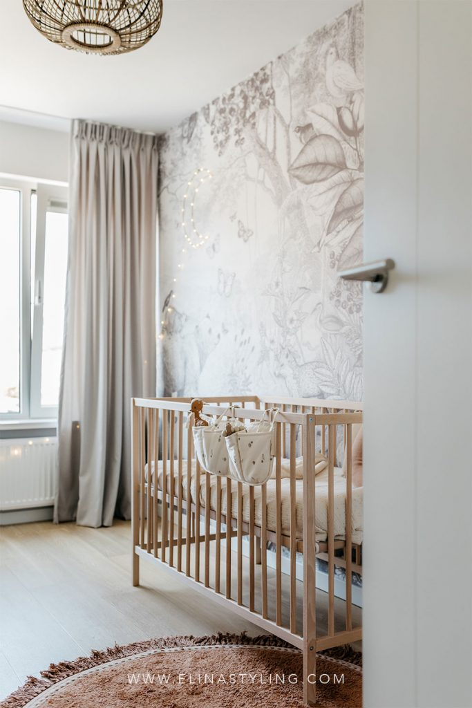 Rustige babykamer jongen