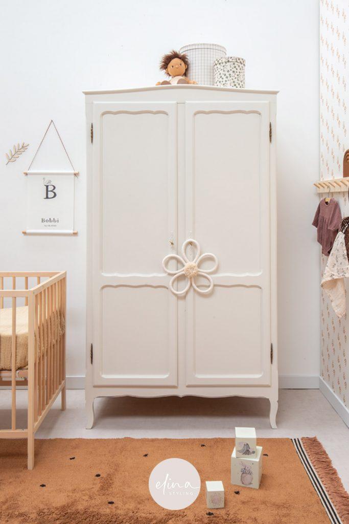 Stylingtips babykamer vintage kledingkast